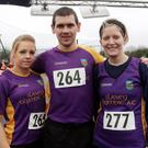 Kelly Long, Declan French and Kate Gregan took part in the annual Ferrycarrig 5 mile race