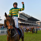 Jamie Codd returned to points action after his Cheltenham high