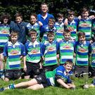 The Gorey Under-13 rugby squad, winners of the South-East league crown