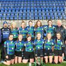 The Gorey Community School Under-18 girls' rugby team, winners of the All-Ireland sevens title last week