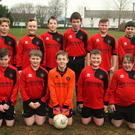 Camolin Celtic before their Under-12 Division 2 soccer clash at home to A.F.C. Legia on Saturday.