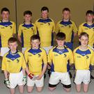 The two Taghmon Under-16 teams which competed against each other in the handball county final