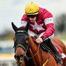 Seá nFlanagan won the Grade 1 Champion Chase at Down Royal on Saturday for the second year in a row on Road to Respect