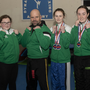 David Dooley, Shauna Hume, Robbie Sludds (coach), Rhianna Sludds-Keane, Mia Byrne and Cora Harris of Dynamic Kickboxing Academy after their fine performances at the world championships