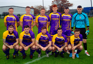 Wexford Football League who eked out a 1-0 win over the Leinster Senior League on Saturday. Photo: Anto O'Brien