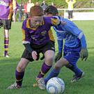 Claude Flynn (North End) Lee Donoghue (Wexford Albion)