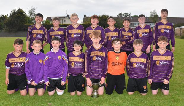 Wexford Albion, the Under-13 Division 1A champions who sealed the title with an excellent derby win against North End United
