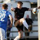 Danny Doyle, seen here in the last home game against Finn Harps, was a willing runner up front