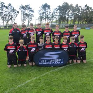 The defeated finalists from Gorey Rangers