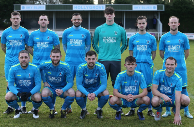 North End United, who beat Bunclody 5-0 on Sunday