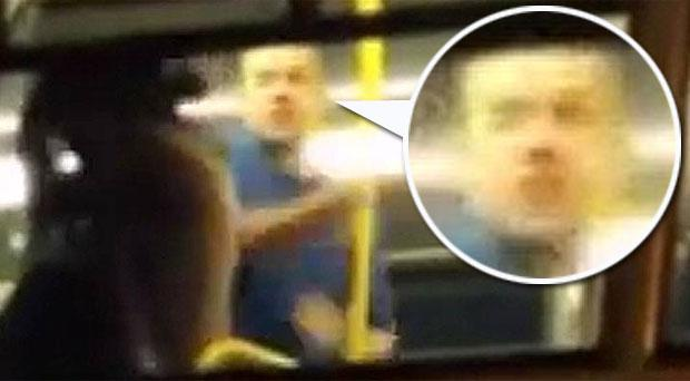 The man who punched the woman on Dublin Bus