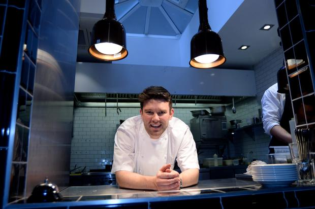 Paul McVeigh, part-owner and chef of Featherblade restaurant, Dawson Street, Dublin. Picture: Caroline Quinn