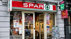 The Spar shop that was targeted