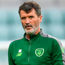 BETTER THE DEVIL YOU KNOW: Ireland assistant manager Roy Keane will select the Man United side. Photo: Sportsfile