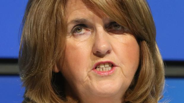Tanaiste and Labour leader Joan Burton