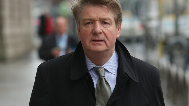 Brian O'Donnell was told by Dublin's High Court he and his wife are trespassing on the luxury residence known as Gorse Hill
