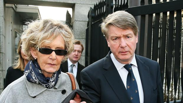 Brian O'Donnell and his wife Mary Patricia