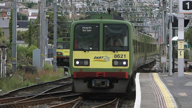 DART trains will run more often from next year. File picture