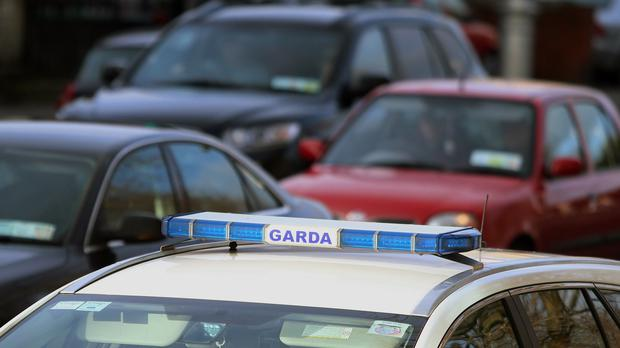 Gardai were on mobile patrol shortly after 3am when they received a report about two men breaking into a vehicle (Stock picture)