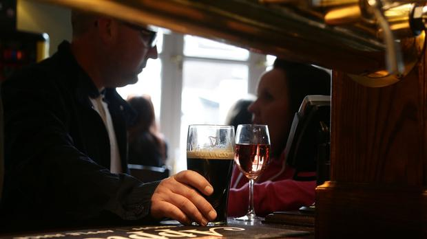 The poll of more than 6,000 Irish people found that December 24, with 45pc of the vote, is the most popular time to visit the pub.