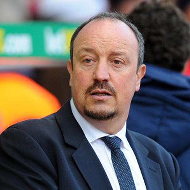 Rafa Benitez, pictured, takes over from Walter Mazzarri as Napoli manager