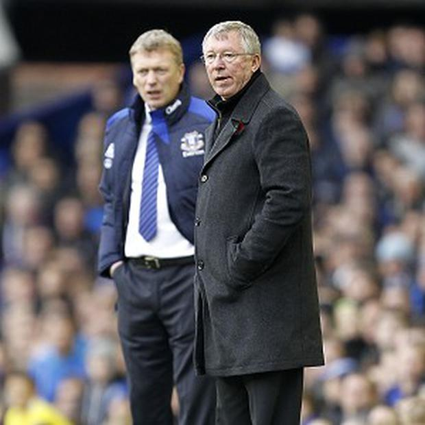 David Moyes and Alex Ferguson