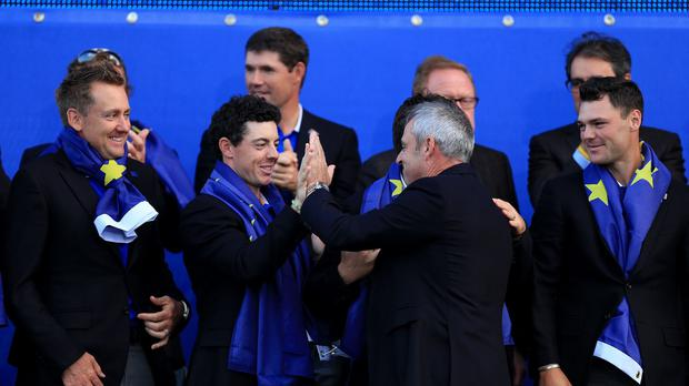 The support of players such as Rory McIlroy was key to getting Paul McGinley appointed as captain