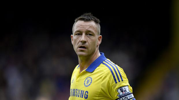 Chelsea captain John Terry was left disappointed after the draw against Manchester United