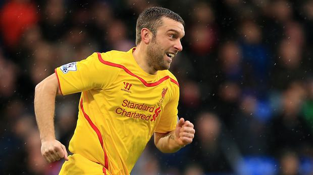 Rickie Lambert admits Liverpool have shown weakness this season