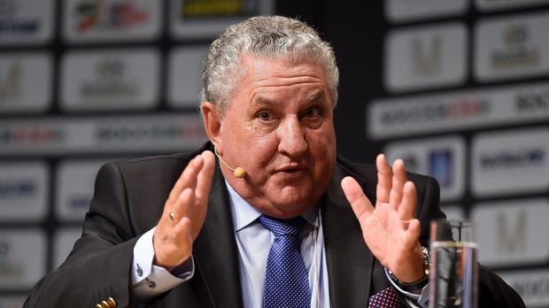 Jim Boyce, Britain's FIFA vice-president, receives an OBE in the New Year Honours.