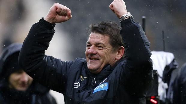 John Carver's Newcastle side secured a 3-0 win at Hull on Saturday