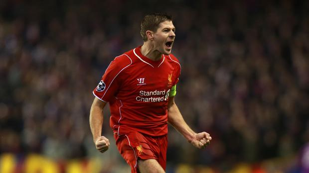 Liverpool manager Brendan Rodgers believes Evertonians will be delighted to see the back of Steven Gerrard, pictured