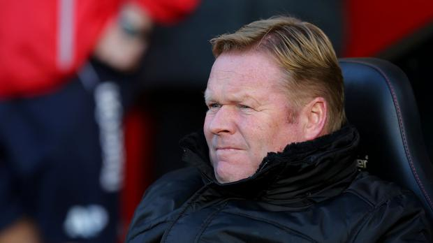 Southampton manager Ronald Koeman is not preoccupied with finishing in the top four