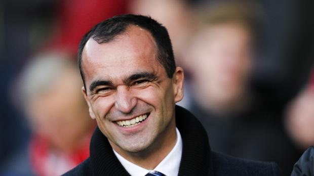 Roberto Martinez is feeling positive about his side