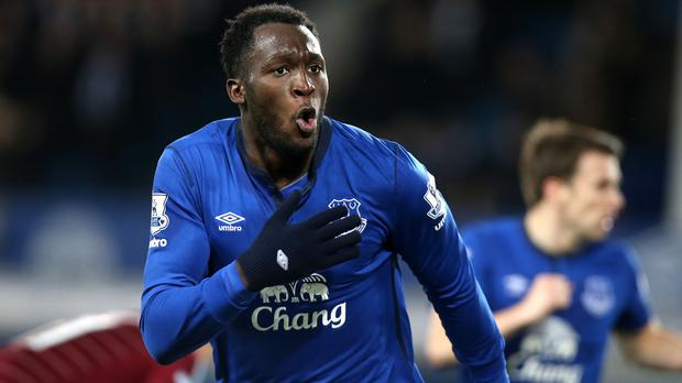 Romelu Lukaku, pictured, impressed Roberto Martinez in Switzerland