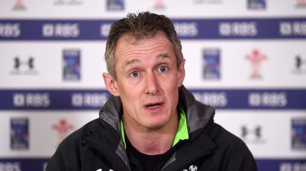 Wales assistant coach Rob Howley, pictured, praised Ireland's Jamie Heaslip