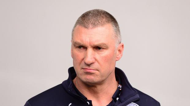Leicester manager Nigel Pearson is not throwing in the towel