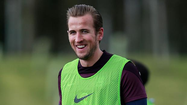 Harry Kane, pictured, earned rave reviews from Gary Cahill and Michael Carrick