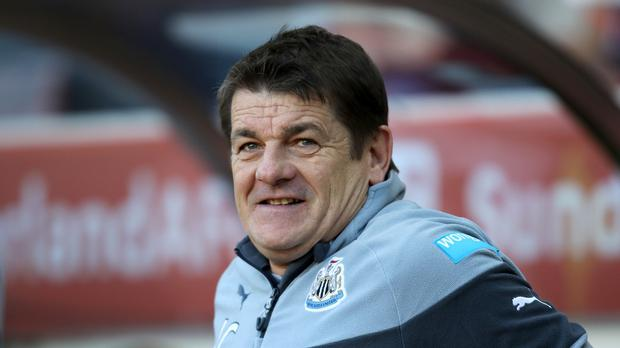 John Carver has endured a nightmare run as Newcastle manager
