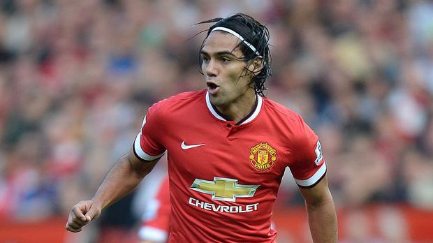 Radamel Falcao has performed poorly at United this season