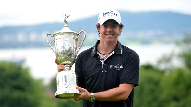 Rory McIlroy is hoping to win a second US Open title at Chambers Bay