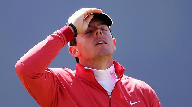 Rory McIlroy may lose his world number one spot while he is out injured