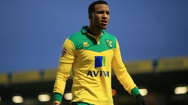 Norwich full-back Martin Olsson is recovering from shoulder surgery