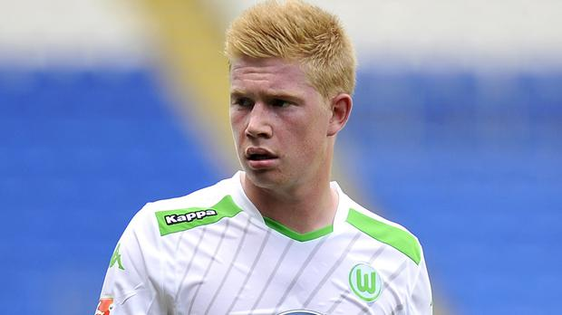 Manchester City have been heavily linked with Wolfsburg's former Chelsea midfielder Kevin De Bruyne