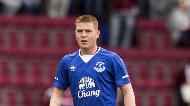 James McCarthy is sticking with the Toffees