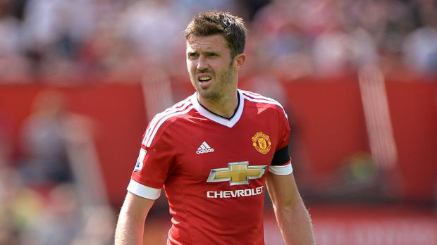 Michael Carrick started Saturday's 1-0 win over Spurs at Old Trafford
