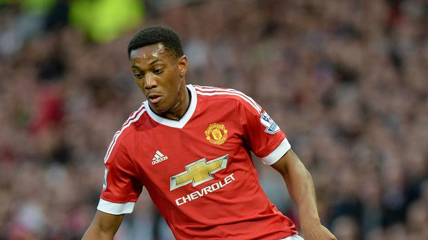 Anthony Martial marked his Manchester United debut with a brilliant goal against Liverpool on Saturday