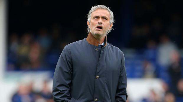 Chelsea manager Jose Mourinho was frustrated after his side's loss at Everton