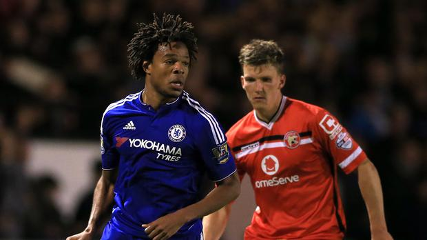 Loic Remy (left) scored Chelsea's second in their 4-1 Capital One Cup win at Walsall on Wednesday.
