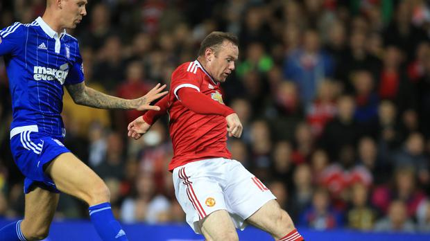 Manchester United's Wayne Rooney is yet to score in the Premier League this season